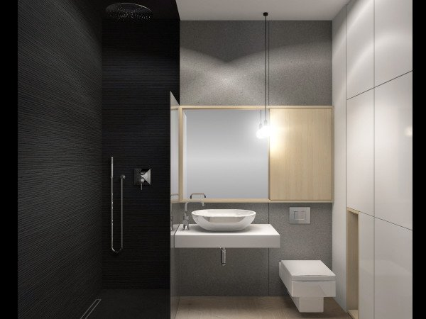 <span>łazienka z czarnym akcentem</span><i>→</i>