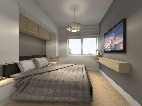 <span>sypialnia z garderobą</span><i>→</i>