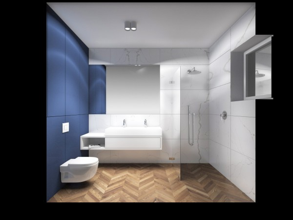 <span>łazienka niebieska z drewnem</span><i>→</i>