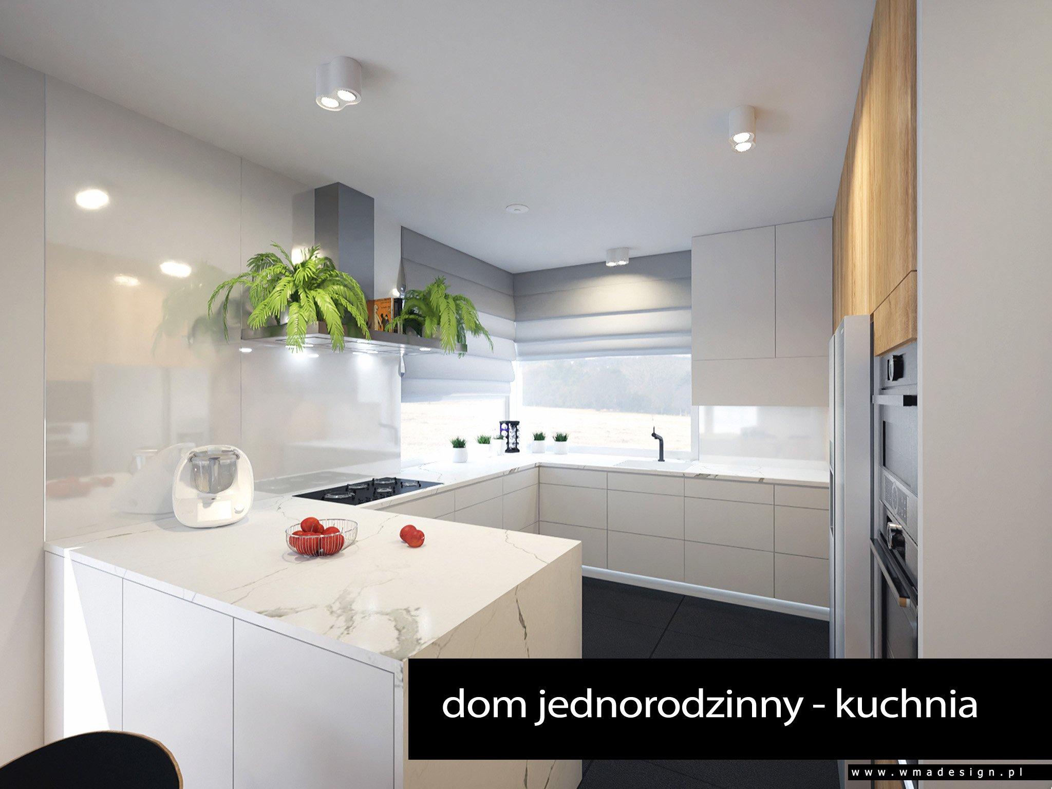 projekt kuchni WMA Design