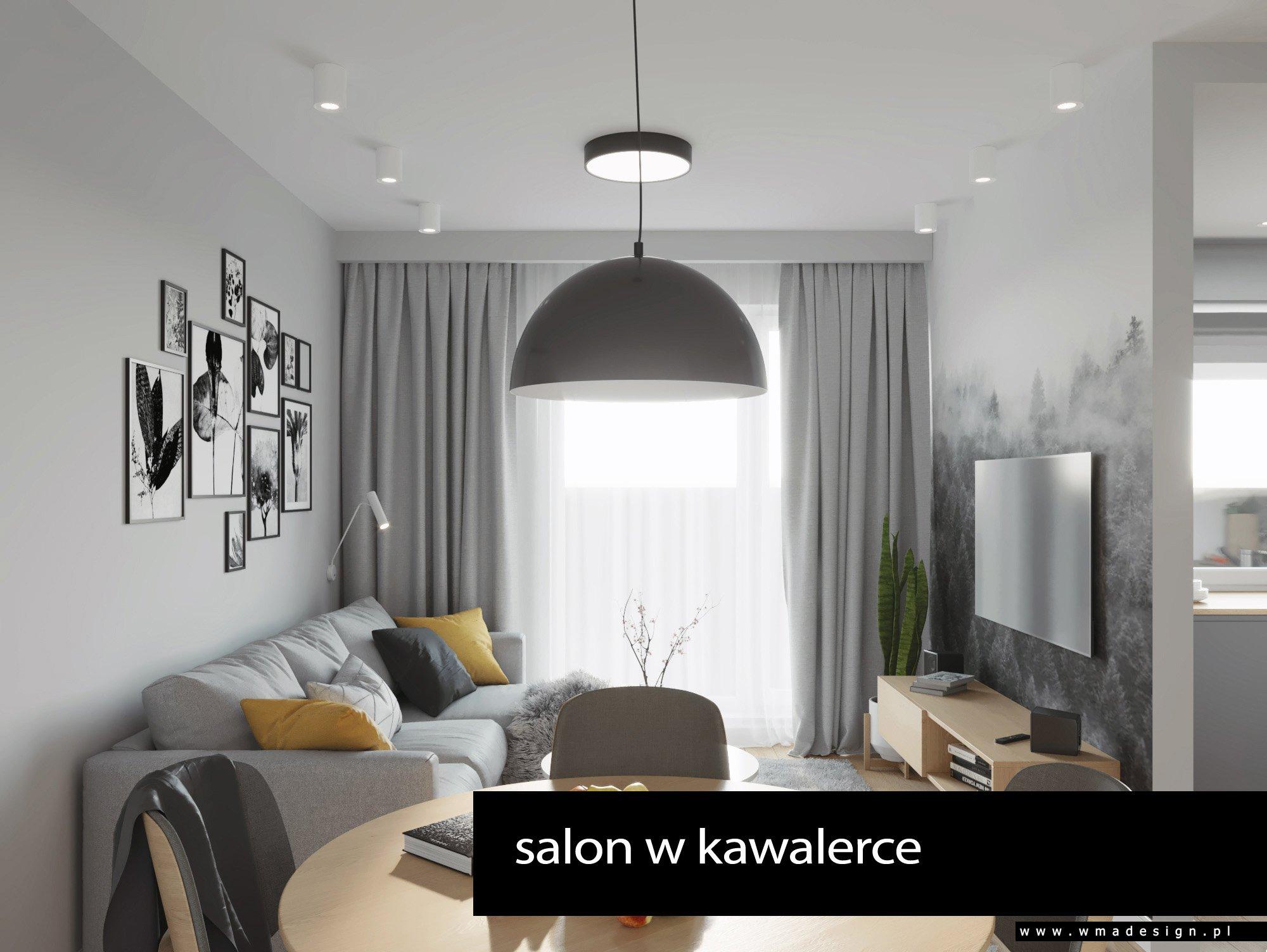 projekt salonu WMA Design