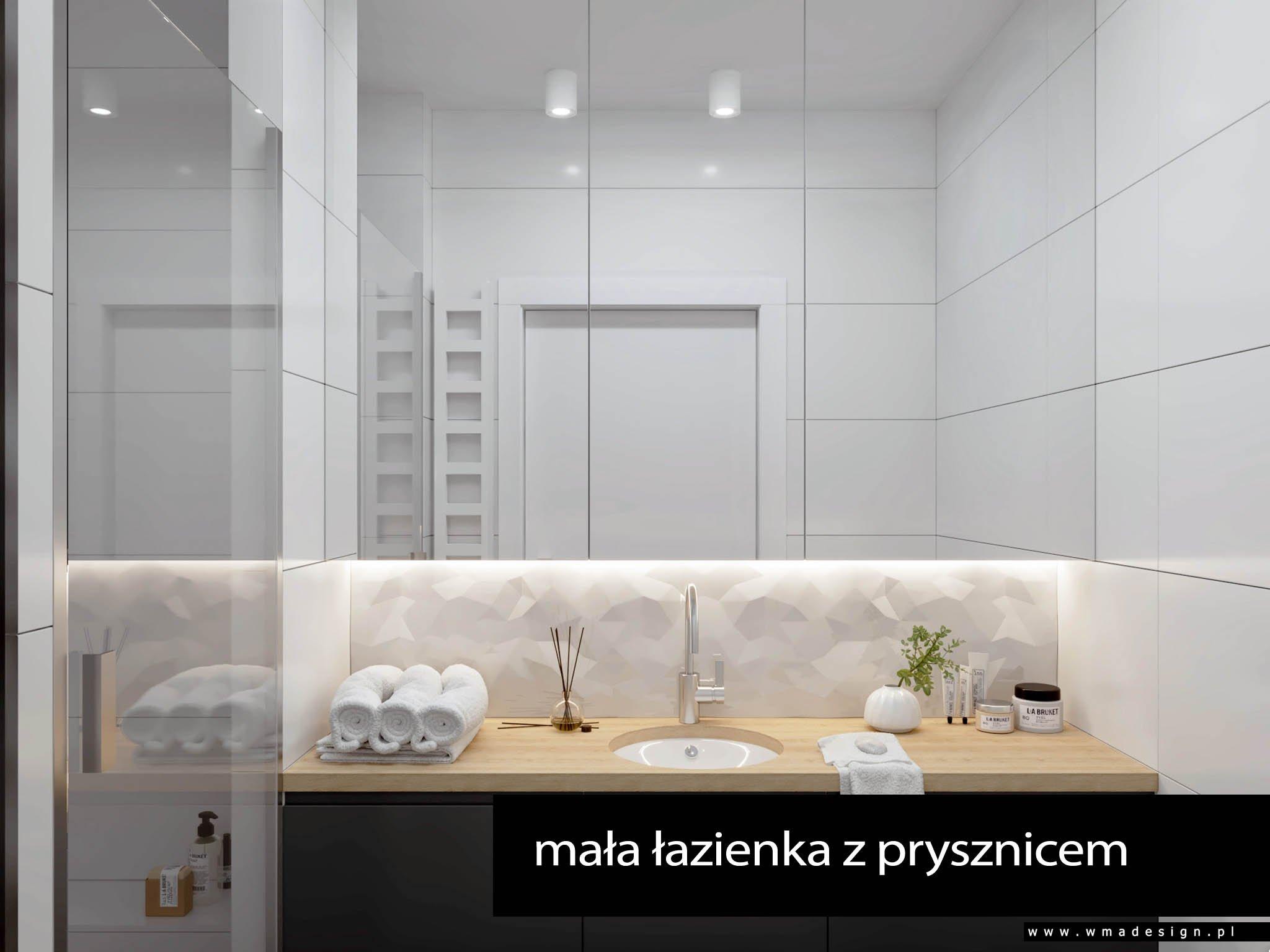 projekt łazienki WMA Design